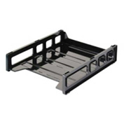 "Officemate®Front Loading Letter Tray 10-1/2"" x 12-1/2"" x 2-7/8"" Black"
