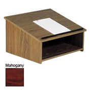 Table Top Podium / Lectern - Mahogany
