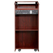 The Prestige Podium / Lectern with Sound - Mahogany