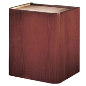 Veneer Contemporary Podium / Lectern Base - Mahogany