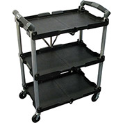 Olympia Tools Pack-N-Roll® Folding Service Cart 85-188 - 150 Lb. Capacity