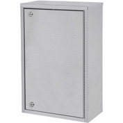 "Omnimed® Large Single Door Narcotic Cabinet with 4 Shelves, 16""W x 8""D x 24""H"