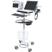 Omnimed® Laptop / Vital Signs Cart