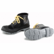 """Onguard Men's Boot, 6"""" Polyblend Black Steel Toe W/Cleated Outsole, PVC, Size 9"""