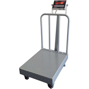 "Optima 915 Series NTEP Portable Floor Digital Scale W/ Diamond Plate 18"" x 24"" 500lb x 0.1lb"