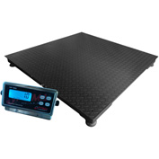 "Optima 916 Series Heavy Duty Pallet Digital Scale 60"" x 60"" 5,000lb x 1lb"