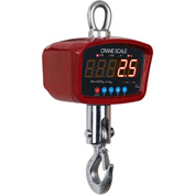 Optima LED Digital Crane Scale With Remote 1,500lb x 0.5lb