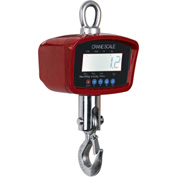 Optima LCD Digital Crane Scale With Remote 1,500lb x 0.5lb