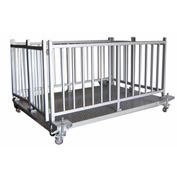 "Optima 920 Series 60"" x 36"" Caged Livestock Scale 60"" x 36"" 5,000lb x 1lb"
