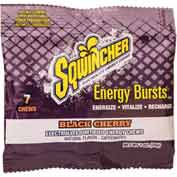 Sqwincher Energy Bursts - Energy Chews - Black Cherry