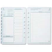 "Cross® Franklin Covey Classic Planner Refill 8-9/16"" x 5-7/8"" x 1-13/16"" Green, White"