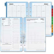 "Cross® Franklin Covey Seasons Planner Refill 1-13/16"" x 6"" x 8-1/2"" Black"