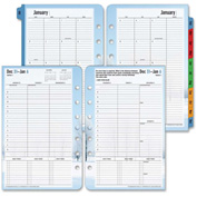 "Cross® Franklin Covey Seasons Planner Refill 8-1/2"" x 5-11/16"" x 2-5/16"" Black"