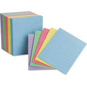 "Oxford® Rule Mini Index Cards 10010, 3"" x 2-1/2"", Assorted, 200/Pack"