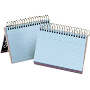"Oxford® Spiral Index Cards 40286, 4"" x 6"", Assorted, 1 Each"