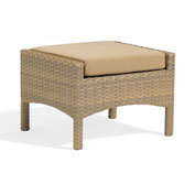 Oxford Garden® Torbay Ottoman, Antique Wicker