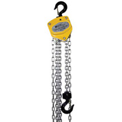 OZ Lifting Manual Chain Hoist w/ Std. Overload Protection 1/2 Ton Cap. 10' Lift