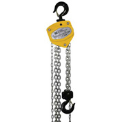 OZ Lifting Manual Chain Hoist w/Std. Overload Protection 1-1/2 Ton Cap. 20' Lift