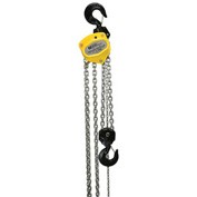 OZ Lifting Manual Chain Hoist With Std. Overload Protection 5 Ton Cap. 10' Lift