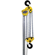 OZ Lifting Manual Chain Hoist w/ Std. Overload Protection 10 Ton Cap. 20' Lift