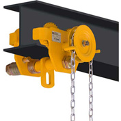 OZ Lifting OZ1GBT Geared Beam Trolley 1 Ton Capacity