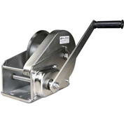OZ Lifting OZ2000BWSS Stainless Steel Hand Winch with Brake 2000 Lb. Capacity