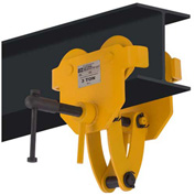 OZ Lifting OZ3BTC Beam Trolley with Clamp 3 Ton Capacity