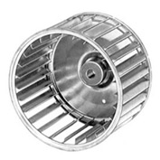 "Fasco Galvanized Steel Blower Wheel - 4 17/32"" Diameter 5/16"" Bore - Pkg Qty 4"