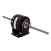 "Century DB6504, 5"" Double Shaft Blower Motor Resilient Base 208-230 Volts 1075 RPM 1/10 HP"