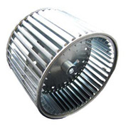 """Double Inlet Direct Drive and Blower Wheel - 1/2"""" Bore 10-5/8"""" Dia 4-1/2"""" W"""