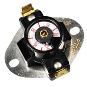 Adjustable Limit Switch Spst Open On Rise 175 To 215 Degrees - Min Qty 5