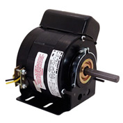 "Century U6521, 5"" Split Capacitor Unit Heater Motor - 1075 RPM 115 Volts"