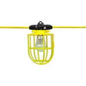 Hang-A-Light® 111050 50 ft. LED String Light - Plastic Cages w/15W LED Bulbs 14/2 SJTW