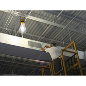 Hang-A-Light® 121100 100 ft. LED String Light - Metal Cages w/ 15W LED Bulbs 12/3 STW