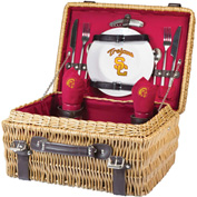 Champion Picnic Basket - Red (University of Southern California Trojans) Digital Print