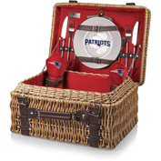 Champion Picnic Basket - Red (New England Patriots) Digital Print