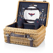 Champion Picnic Basket - Navy/Slate (Atlanta Hawks) Digital Print