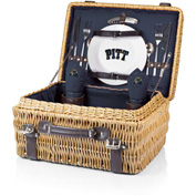 Champion Picnic Basket - Navy/Slate (University of Pittsburgh Panthers) Digital Print