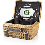 Champion Picnic Basket - Black (Oakland Athletics) Digital Print