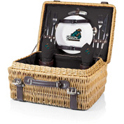 Champion Picnic Basket - Black (Coastal Carolina Chanticleers) Digital Print