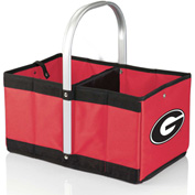 Urban Basket - Red (University of Georgia Bulldogs) Digital Print
