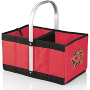 Urban Basket - Red (University of Maryland Terrapins/Terps) Digital Print