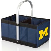 Urban Basket - Navy/Slate (University of Michigan Wolverines) Digital Print