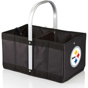 Urban Basket - Black (Pittsburgh Steelers) Digital Print