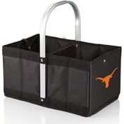 Urban Basket - Black (University of Texas Longhorns) Digital Print