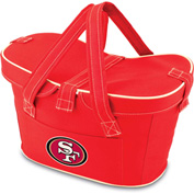 Mercado Basket - Red (San Francisco 49ers) Digital Print