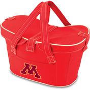 Mercado Basket - Red (U Of Minnesota Golden Gophers Digital Print
