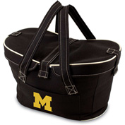 Mercado Basket - Black (U Of Michigan Wolverines) Digital Print