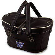 Mercado Basket - Black (U of Washington Huskies) Digital Print