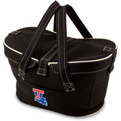 Mercado Basket - Black (Louisiana Tech Bulldogs) Digital Print